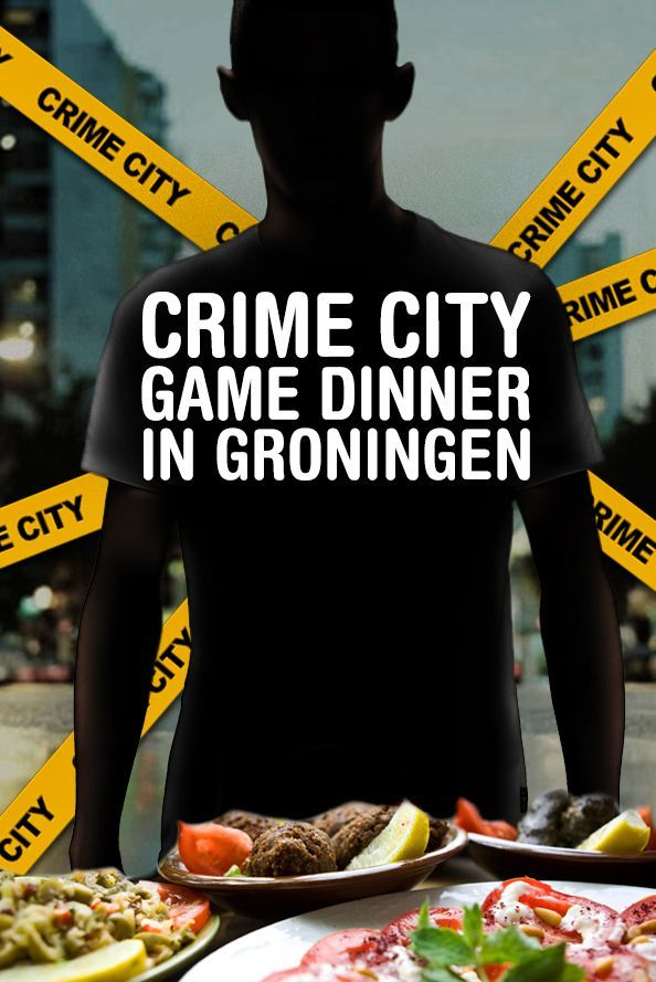 Crime City Dinner Game in Groningen