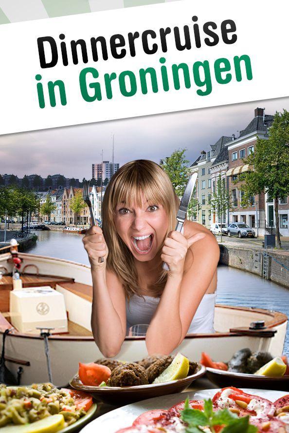 Dinner Cruise Rondvaart in Groningen
