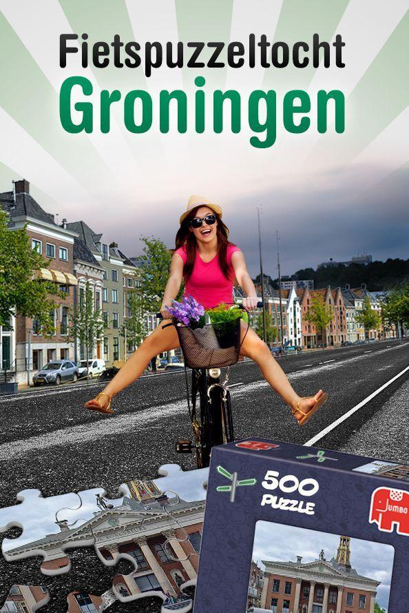 Fietspuzzeltocht met Lunch en Borrelsloep in Groningen