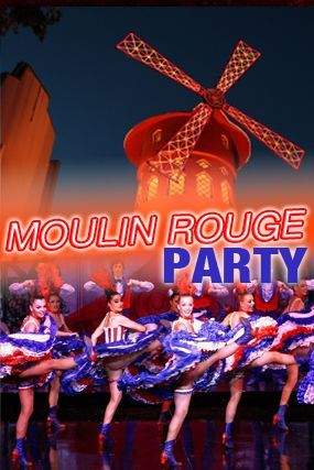 Moulin Rouge Party in Groningen
