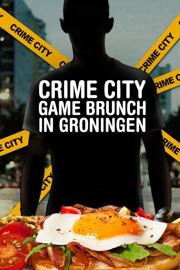 Crime City Brunch Game in Groningen