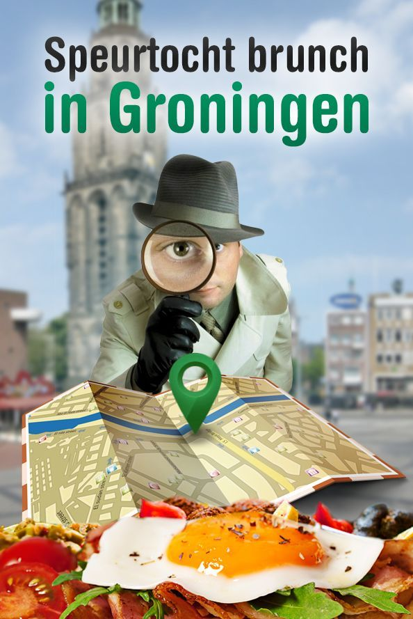 Speurtocht Brunch in Groningen