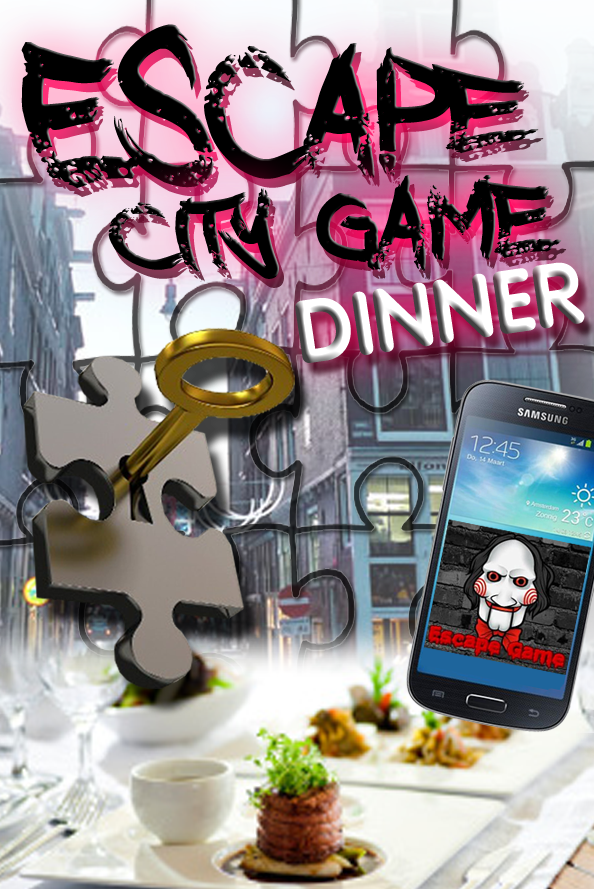 Dinner – Escape City Tablet Game in Groningen