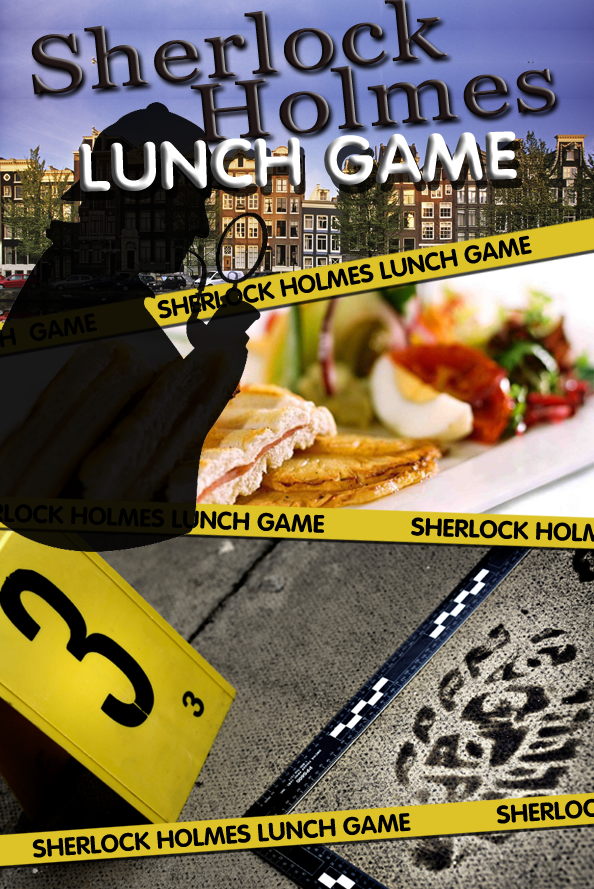 Sherlock Holmes Tablet Lunch Game in Groningen